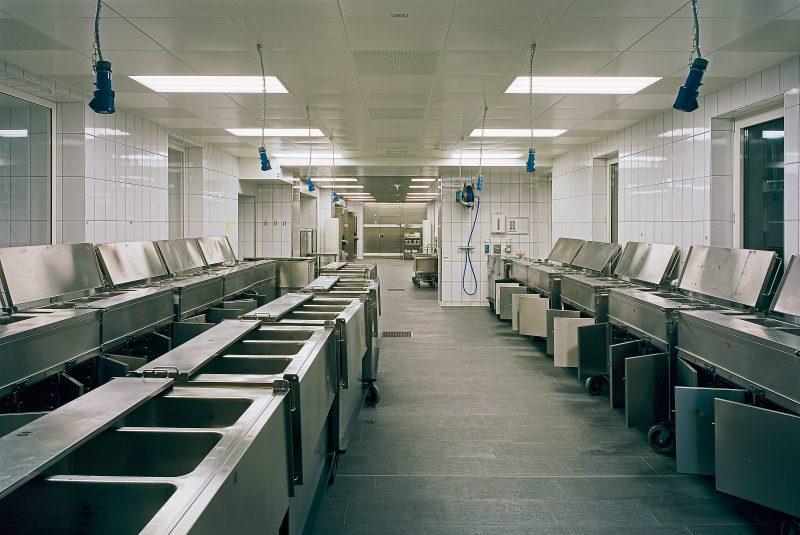 Hauptküche im Therapiezentrum Ybbs